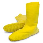 "The Safety Zone®  Yellow Heavyweight Latex ""Nuke Boot"" Shoe Covers"