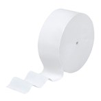 Scott KCC07006 1150'  12 Rolls/Case Coreless Jumbo Jr. Roll 2-Ply White Bathroom Tissue