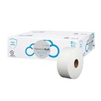 Sofidel CEL-410047 700' Heavenly Soft® Special Jumbo Roll 2-Ply White Bathroom Tissue