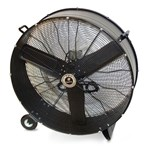 "Drum Fan, 42""D Direct Drive, Fixed Base"