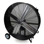 "Drum Fan, 48""D Belt-Driven, Fixed Base"