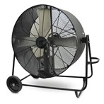 "Drum Fan, 48""D Belt-Driven, Swivel Base"