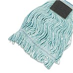 Value Loop-end/Tailband  Standard Mop Heads with Scrub Pads