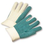 West Chester Standard Green Cotton Hot Mill Gloves