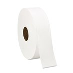 Windsoft WIN201 4000' 6 Rolls/Case Jumbo Sr. 1-Ply White Bathroom Tissue