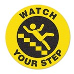 "Safety Floor Sign, Anti-slip – ""WATCH YOUR STEP"" (STAIRS)"