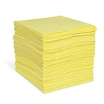 "Commander HazMat Universal Sorbent Mats, Heavy-weight, 10"" x 14"", 100s"
