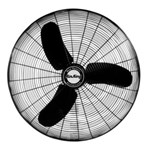 "Air King® 9170H 30"" 8780 CFM 3-Speed Industrial-Grade Non-Oscillating Assembled Fan Head"