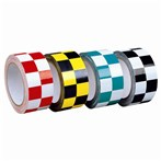 Laminated Checkerboard PVC Tape