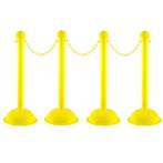 "Mr. Chain  3""  Heavy-Duty Stanchions"
