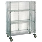 Metro Super Erecta Mobile Security Shelving Unit