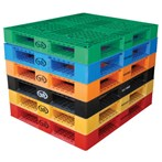 Vestil  PLP2-4840 Plastic Pallet/Skid in Six Colors