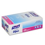 PURELL® Hand-Sanitizing Wipes 100-Count Box