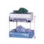 No-spill Exam Glove Dispensing Wire Rack, 2 Boxes