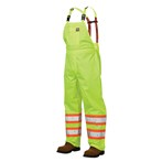 Richlu  ANSI Class E 150D Safety Rain Overall, Lime, S377