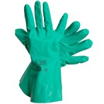 Ansell  37-145  Sol-Vex® 11-Mil Unsupported Green Nitrile Gloves