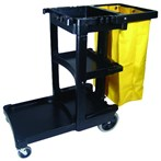 Rubbermaid® Commercial Replacement Vinyl Cleaning Cart Bag