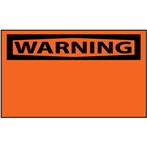 WARNING (Header Only) Label